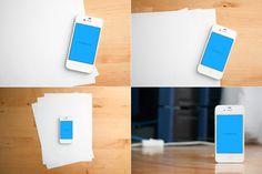 Product Mockups ~ App Mock-Up by BeRabbit ~ Creative Market
