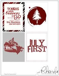 The Cropping Canuck: Canada Day Printables Canadian Things, Canada Holiday, Canada Day, Project Life, Playing Cards, Printables, Projects, Birthday Ideas, Map