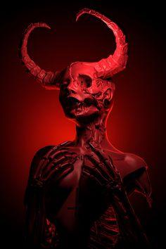 Gothic by Necro Mary on Behance Dark Art Illustrations, Illustration Art, Theme Tattoo, Beautiful Dark Art, Satanic Art, Horror Artwork, Arte Sketchbook, Demon Art, Occult Art