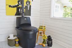 Biolan Erotteleva Kuivikekäymälä Biolan Separeting Dry Toilet