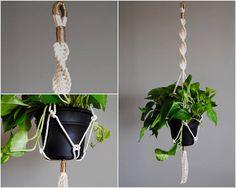 MUNA Macramé Plant Hanger / Hanging Planter