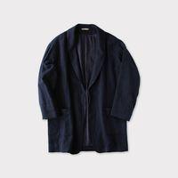 Smoking jacket~cotton linen