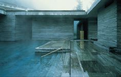Vals Thermal Baths by Peter Zumthor. Most beautiful piece of architecture to date.
