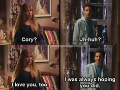 20 Ways Cory And Topanga Gave You Unrealistic Expectations About Relationships- ugh I miss this show! Girl Meets World, Boy Meets World Quotes, Riley Matthews, Cory Matthews, Tv Show Quotes, Movie Quotes, Quotes Quotes, Cute Relationships, Relationship Goals