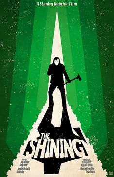 The Shining horror movie poster - collected for www.thecautioustrain.blogspot.com