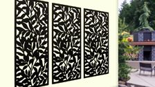 Matrix 2410 x 1205 x 7mm Charcoal Autumn Screen Panel | Bunnings Warehouse