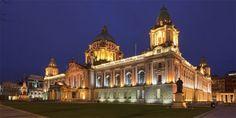 Belfast City Hall at night  Stay at www.maldronhotelbelfast.com
