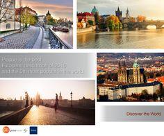 Prague!  Discover the World with Global Beds! #onlinebookingsystem #FIT #discovertheworld #Prague #bestdestinations #interestingfacts #DorakHolding #GlobalBeds