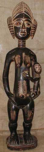 Africian Statue from the Ashanti Tribe of Ghana, Togo, and the Ivory Coast