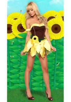 Sexy Sunflower Costume - eyecandybeachwear2.com