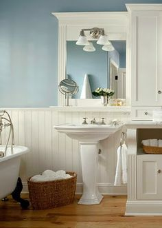 For our bathroom! ~ I Dream of a Beachy Bathroom | My Uncommon Slice of Surbibia