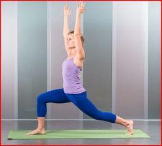De lunch houding is goed om te heup op te rekken, omdat onze heupen gedurende de dag bijna altijd naar voren worden bewogen en vrijwel niet op rek worden gezet. De heupen worden zo aan de voorkant opgerekt evenals de bovenbenen en het bekken. Het versterkt daarnaast been- en rugspieren. Door de armen naar boven uit te strekken worden ook de schouders en armen versterkt. Zorg ervoor dat de voorste knie in een hoek van 90 graden staat, dat de knie boven de voet blijft en de tenen naar voren…