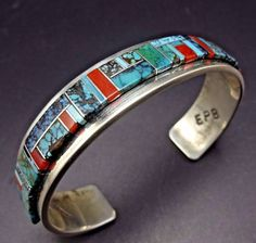 Native American Jewellery, American Jewelry, Southwest Jewelry, Turquoise Cuff, New Sign, Navajo, Cuff Bracelets, Sterling Silver, Blue