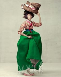 """Harvest Feast"" Vogue Korea, October 2010; photography by Oh Sang Sun"