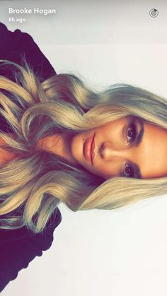 Brooke Hogan || Snapchat (August 28, 2016) Brooke Hogan, August 28, Snapchat, Dreadlocks, Long Hair Styles, People, Beauty, Long Hairstyle, Long Haircuts