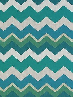 Pindler & Pindler - Zola - Capri - $77.75 Per Yard #interiors #design #home #decor #trend #style #bright #colorful #quotes #designer #tips #apartment #inspiration #dining #room #foyer #entryway #green #blue #chevron #stripes #white