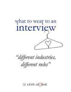 Interview Basics: How to Dress for an Interview