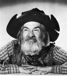 "George ""Gabby"" Hayes as cowboy"