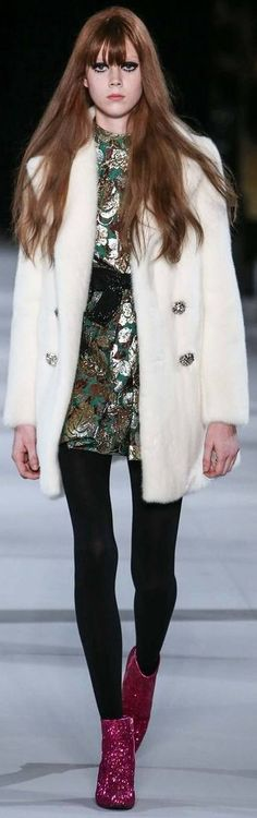 FALL 2014 READY-TO-WEAR Saint Laurent  fashion trends that inspires