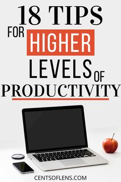 If you struggle with productivity and procrastination, find out how you can achieve higher levels of productivity with these 18 tips! #productivity #productivitytips #productivityhacks #lifehacks #getstuffdone #productivehabits