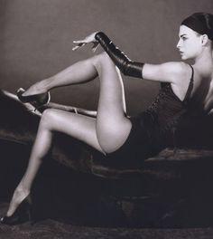 Linda Evangelista by Karl Lagerfeld for Numéro #44