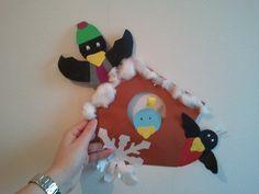 Vogelhuisje van papier