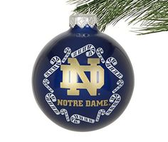 University of Notre Dame 4.25'' Nutcracker Christmas ornament ...