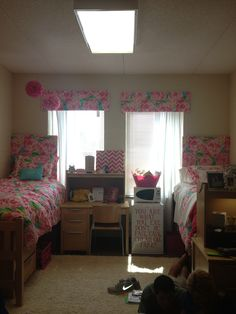 Lilly Inspired Headboards And Window Treatments For Dorm. Part 2