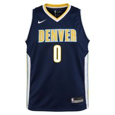 4cbc250be9f Emmanuel Mudiay Denver Nuggets Nike Icon Edition Swingman Big Kids  NBA  Jersey Size Medium (