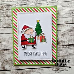 Doodlebugs: Jingle all the Way from MFT Stamps