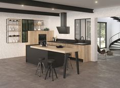 cuisine beige et noir - Yahoo Canada Image Search Results Small Living Room Layout, Small Living Room Furniture, Living Room Sectional, Living Room Flooring, Home Living Room, Home Furniture, Furniture Layout, Living Spaces, Home Decor Kitchen