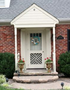 curb appeal front entrance cleaning, foyer