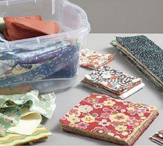 Organizing quilt scraps in just 3 steps