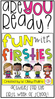 Are you ready for the first week of first grade?! This back to school pack is FULL of activities and ideas for making the beginning of the year a smashing success! Kid-tested and teacher approved :)