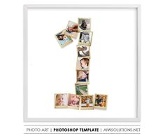 one year old birthday gift, Photography Storyboard, Collage Board Template ,photos in number 1 , Photo Collage Template, #ModernGallery #KidRoomDecor #PhotoGifts #BirthdayGift #HolidayGiftIdea #PhotoStoryboard #StoryboardCollage #WallArtPhoto #PhotoArt #PhotoCollage