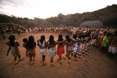 indigena encontro lideres roda
