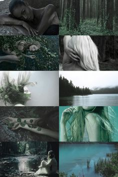 sjörå (scandinavian guardian of the lake) aesthetic (more here)