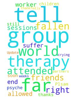 Update from Plsam 139 -  Hello Prayer Partners. I wanted to first thank all of you for your encouragement, prayers and articles to help me through wanting to end my life. I called the crisis hotline a few weeks ago and two workers came to the house to assess my situation. I was then sent to the hospital to meet with a social worker and start group therapy. I have attended three sessions so far and have had one appointment with a psychiatrist. I was given medications to help me. Thankfully…