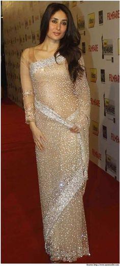 Kareena Kapoor in Manish Malhotra designer wear clothes