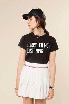 sorry im not listening