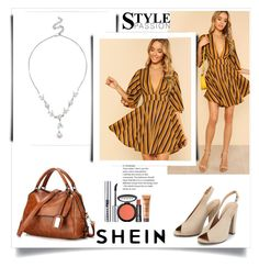"""SHEIN  4"" by deyanafashion ❤ liked on Polyvore featuring LORAC"