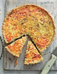 Onion and Gruyère Tart - The Happy Foodie