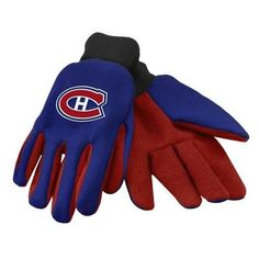 Montreal Canadiens NHL 2015 Ulitity Glove - Colored Palm