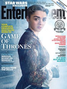 Gorgeous Arya Stark. I wish I could find just the image of this...
