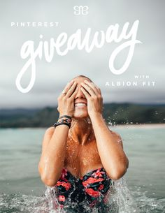 ALBION GIVEAWAY! Contest closes May 18th 2017. We're giving away $500 worth of Albion product! Click through to find out how you can enter to WIN! https://albionfit.com/blogs/news/pinterest-giveaway-florals