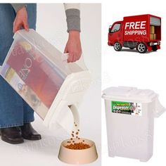 Pet-Food-Pouring-Dispenser-Storage-Container-Bird-Seed-Animal-Bag-In-Features
