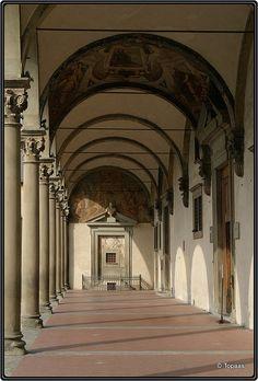 Ospedale degli Innocenti, Florence, Italy, 1426