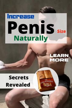 🛑This Pin Will Show You How To Increase Penis Size Naturally.ℹ️ about How To Enlarge Penis.Can Penis Size Increase? The answer is yes.Click the Link And Find Out More🙌 Men Health Tips, Natural Health Tips, Health Care, Men's Health Supplements, Kegel Exercise For Men, Male Enlargement, Beauty Tips For Men, Sex And Love, How To Increase Stamina