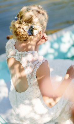 Wedding hairstyle idea; Featured Photographer: Brittany Massey