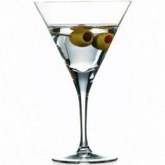 Elegante copa de cristal para Martini con una capacidad de 220 cc., sonoridad superior y con una resistencia de más de 2000 ciclos de lavado.